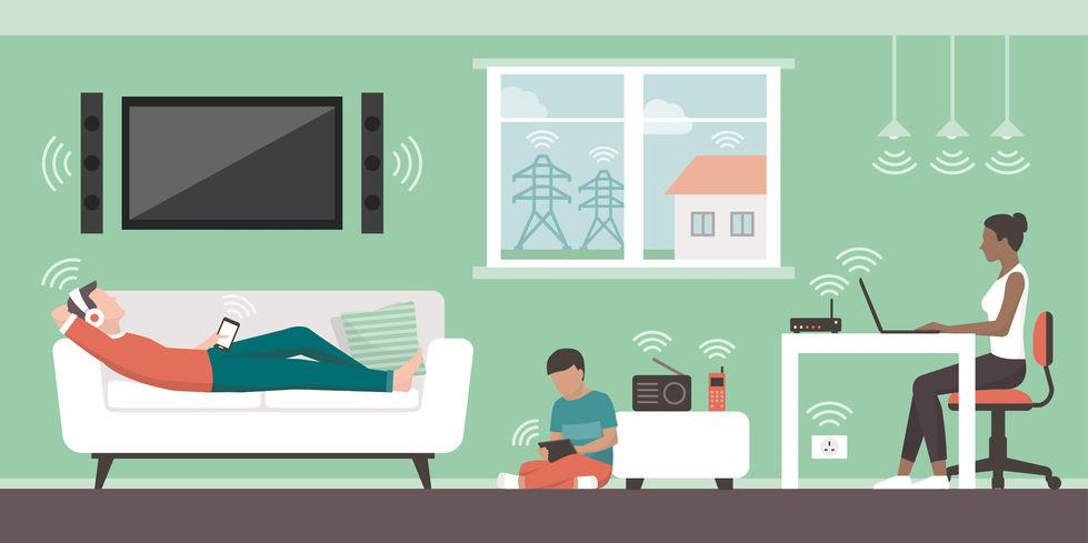 Energien, die den Wohnraum belasten können